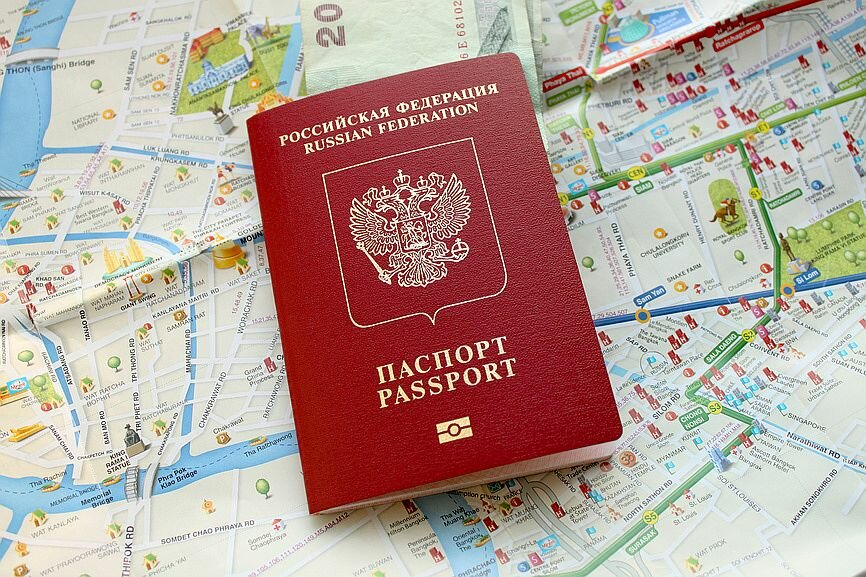 Загранпаспорт образец 2017